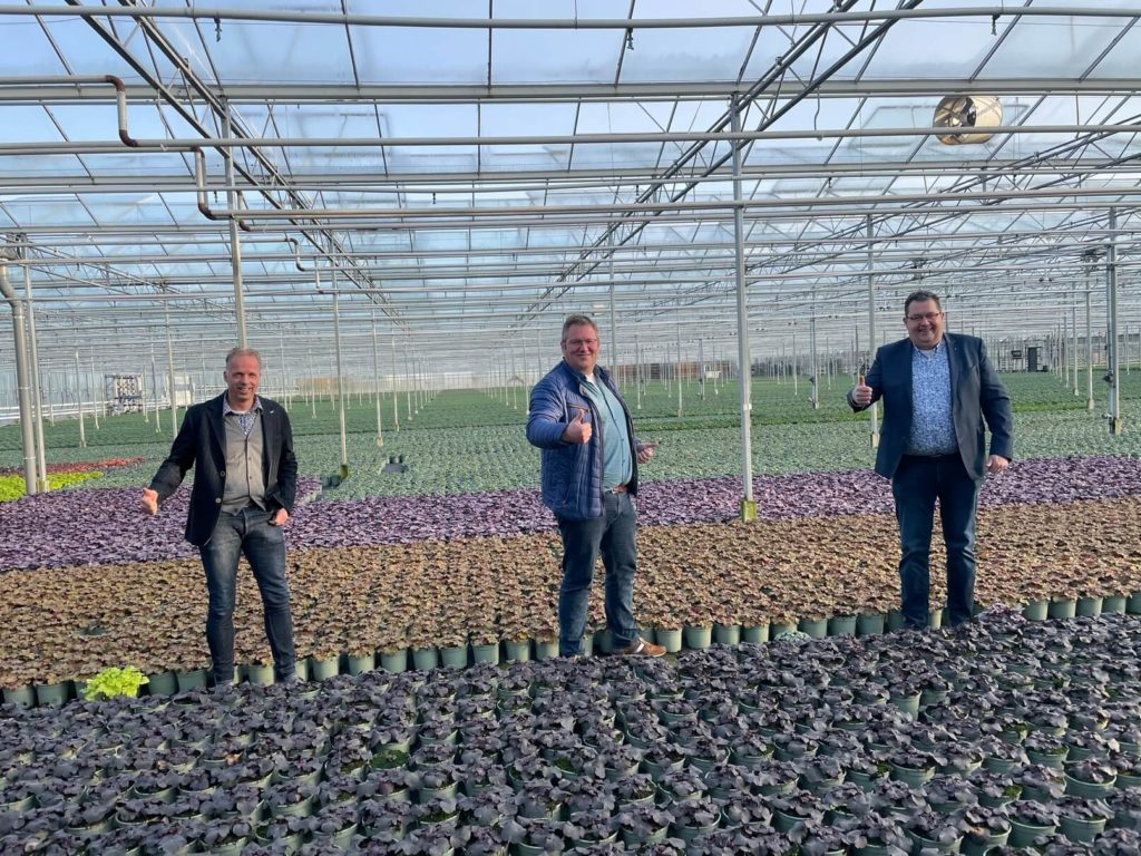 Marcel van Vemde expands the board of Van Woudenberg Tuinplanten